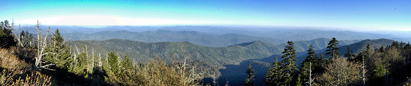 Smoky Mountain panoramics.